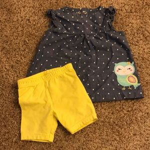 Baby girl owl outfit